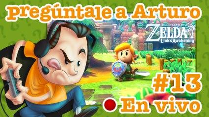 Zelda: Link's Awakening #13 | Pregúntale a Arturo en Vivo (01/04/2021)