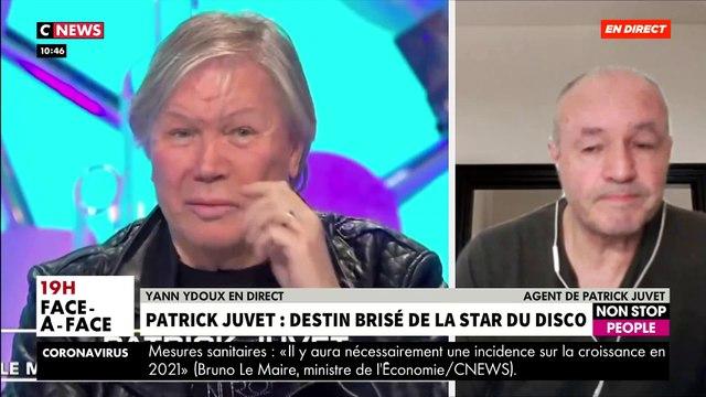 """Regardez l'agent de Patrick Juvet qui explique ce matin dans """"Morandini Live"""" pourquoi il a envoyé des secours chez le chanteur dont il était sans nouvelles"""