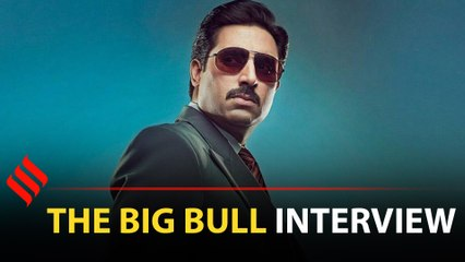 Abhishek Bachchan on The Big Bull: Films have Amitabh Bachchan, I am OTT platform's Bachchan