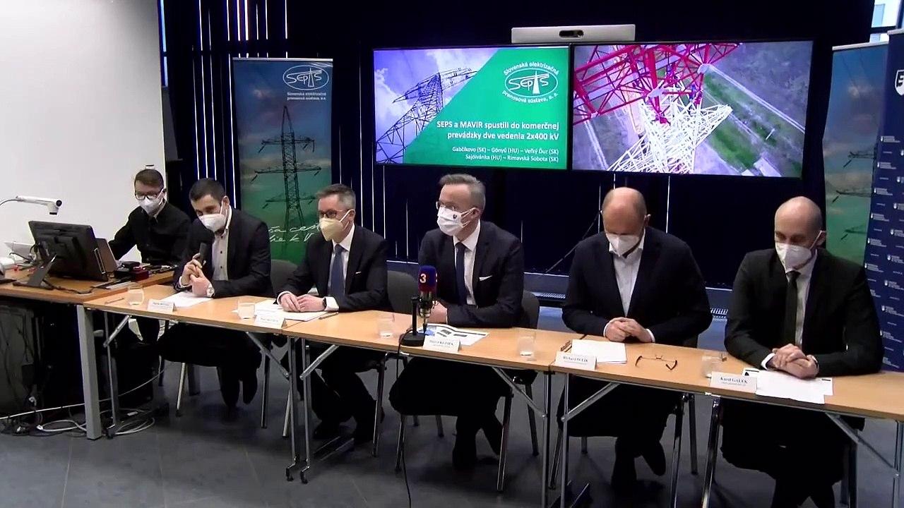 ZÁZNAM: Brífing Slovenskej elektrizačnej prenosovej sústavy, a. s. za úćasti R. Sulíka