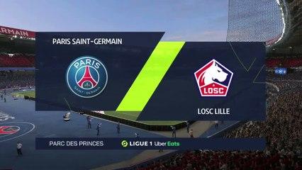 PSG - LOSC : notre simulation FIFA 21 (31ème journée de Ligue 1)
