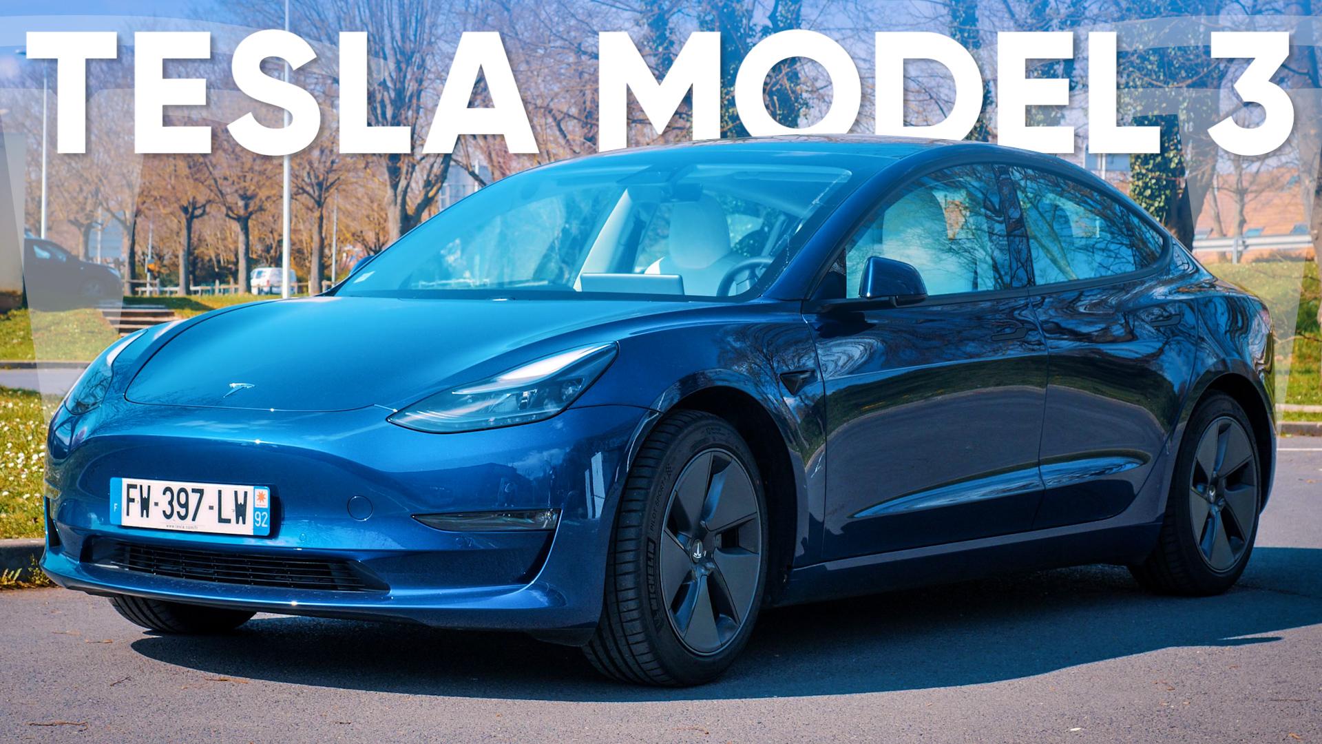 On a laissé la TESLA Model 3 rouler (presque) TOUTE SEULE !
