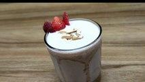 Strawberry Milkshake ,  Strawberry Crush Milkshake ,  Strawberry thick Shake ,  milkshake ,  strawberry ,  strawberry shake ,  how to make strawberry shake ,  Desi Cook
