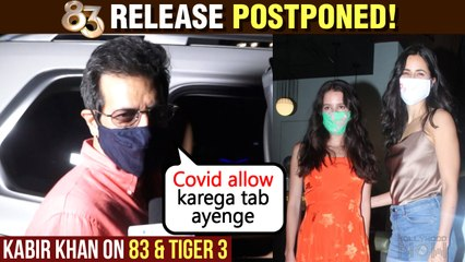 Kabir Khan On 83 Release ' Abhi Toh Covid Chal Raha Hai' | Katrina Spotted With Sister Isabelle