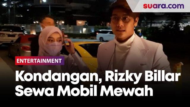 Datang ke Pernikahan Atta-Aurel, Rizky Billar Pinjam Mobil Mewah