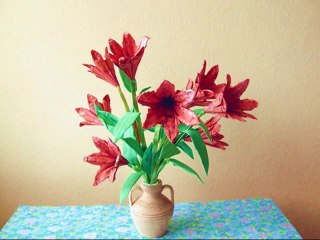 Origami Tiger Lily