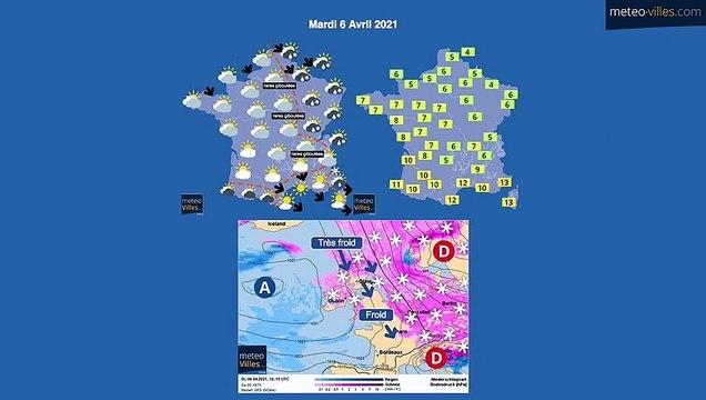bulletin meteo du samedi 3 avril 2021