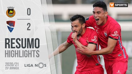 Highlights: Rio Ave 0-2 Gil Vicente (Liga 20/21 #25)