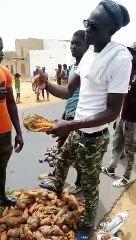 Les paysans de Noto Gouye Diama qui n'arrivent plus à écouler leurs marchandises ont hué la ministre