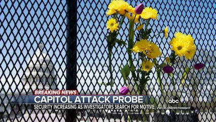 Authorities search for motive in deadly Capitol Hill attack