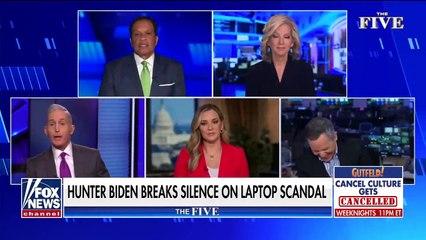 'The Five' slam Hunter Biden 'Hard to believe he can't identify laptop'