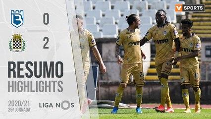 Highlights: Belenenses SAD 0-2 Boavista (Liga 20/21 #25)