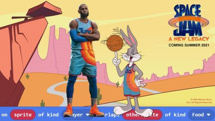 Space Jam: A New Legacy.LeBron James teams up with Bugs Bunny
