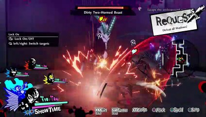 PERSONA 5 STRIKERS (PS5) BLIND PART 3