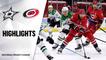 Stars @ Hurricanes 4/4/21   NHL Highlights