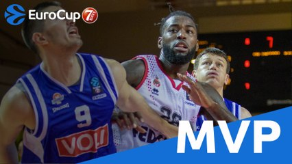 Quarterfinals MVP: Mathias Lessort of AS Monaco