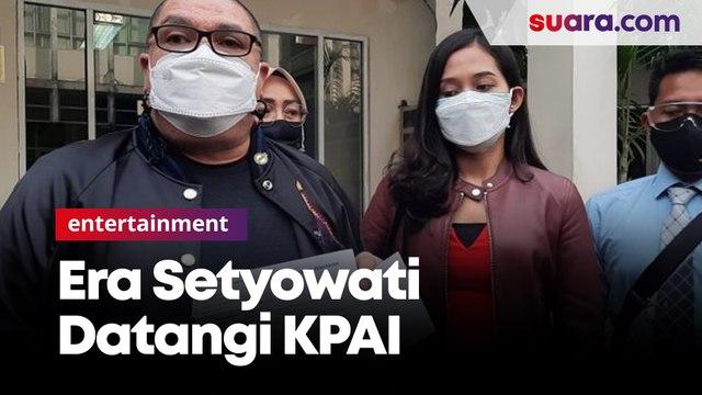 Miss Landscape Indonesia 2019 Datangi KPAI Dugaan Kasus Penelantaran Anak