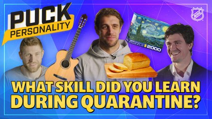 Puck Personality: What New Skill Did You Learn During Quarantine?