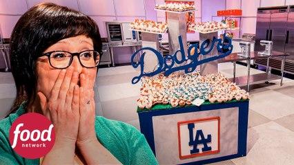 ¡Un jonrón de sabores! Mil cupcakes inspirados en béisbol | Cupcake Wars | Food Network Latinoamérica