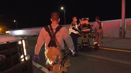 Live Rescue: Cars Block Fire Truck's Path