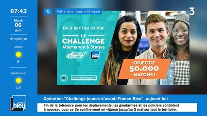 06/04/2021 - La matinale de France Bleu Gironde
