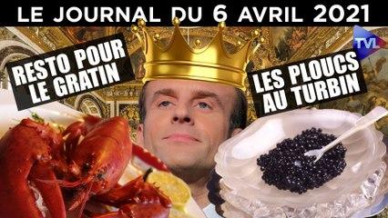 Mesures sanitaires : les deux France de Macron - JT du mardi 6 avril 2021