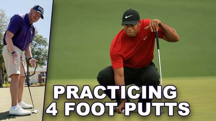 You Have To Make At Least 88% Of Your 4 Foot Putts