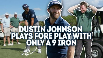 Fore Play vs Dustin Johnson - One Club Challenge, 9 Iron