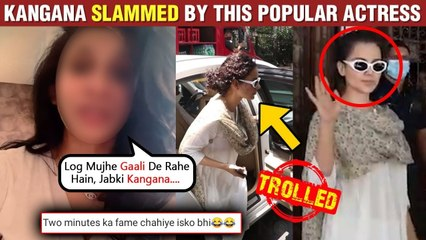 Kangana Ranaut SLAMMED By This POPULAR Actress For Not Wearing Mask| Gets Trolled