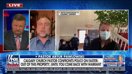 Pastor who stood up to police in viral video speaks out