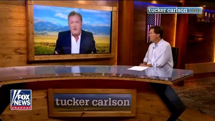 Piers Morgan joins 'Tucker Carlson Today' for first interview since 'cancelation'  Preview