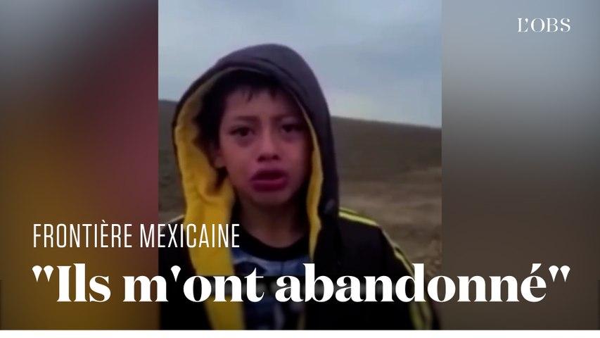 L'appel à l'aide déchirant d'un enfant perdu à la frontière entre le Mexique et les Etats-Unis
