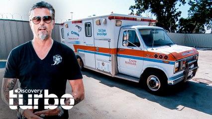 Richard vende una ambulancia mientras Aaron participa en carrera | El Dúo mecánico | Discovery Turbo