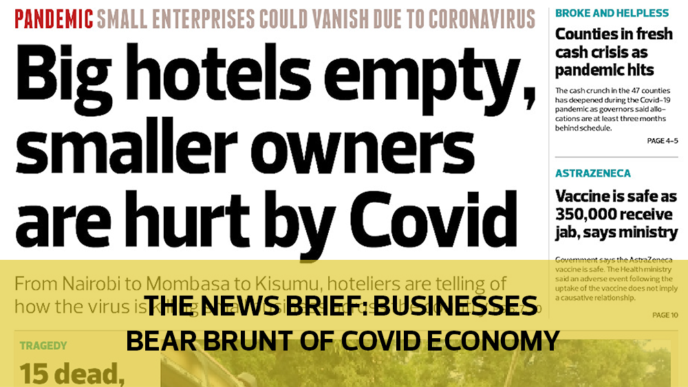 The News Brief: Businesses bear brunt of Covid-19 economy