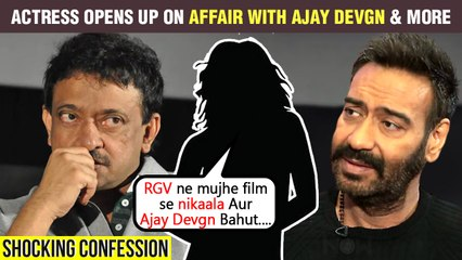 Famous 90's Actress SHOCKING Revelations On Affair With Ajay Devgn, Insult By Ram Gopal Varma & More