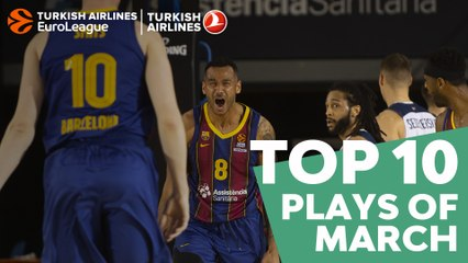 Top 10 Plays of March!