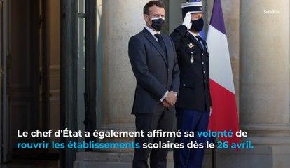 Coronavirus : Emmanuel Macron donne des précisions sur le calendrier en visioconférence