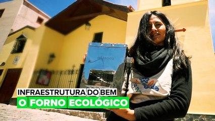 O forno ecológico que salva vidas