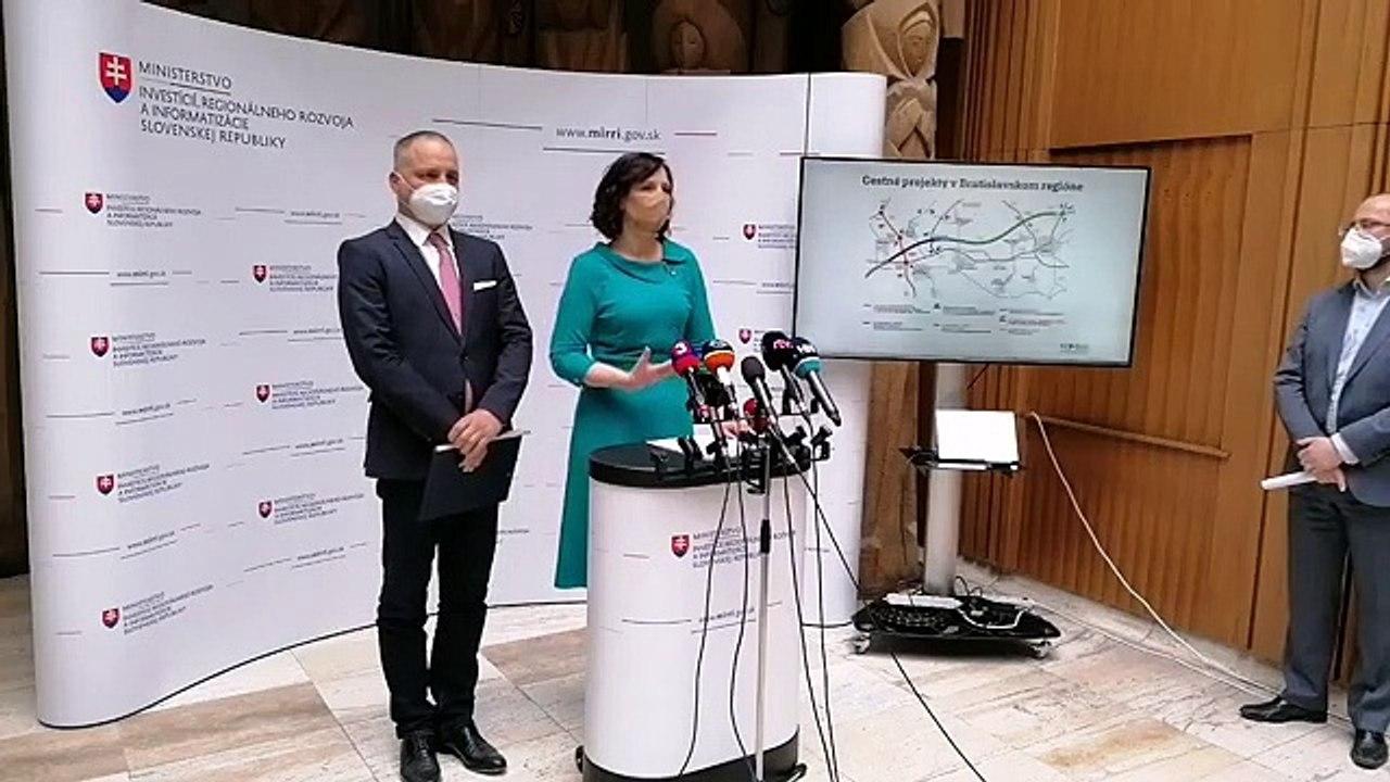 ZÁZNAM: TK podpredsedníčky Vlády SR V. Remišovej