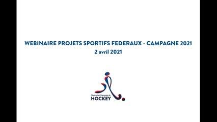 Webinaire Projets Sportifs Fédéraux - Campagne 2021