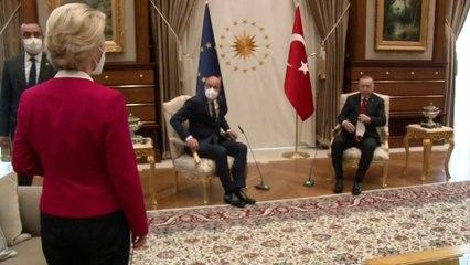 Ursula von der Leyen privée de siège face à Erdogan : la Turquie impute la responsabilité de l'UE