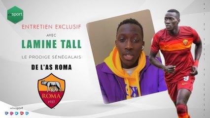 Entretien exclusif avec Lamine Tall, le prodige sénégalais de l'AS Roma