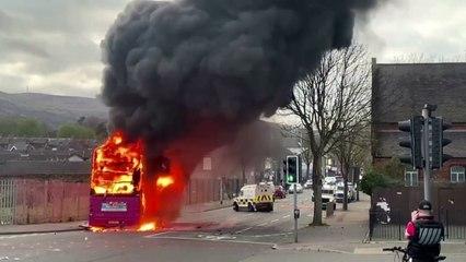 Northern Ireland leaders condemn violence