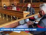 A la Une : 13 patients transférés vers Clermont-Ferrand / 18 centres de vaccination dans la Loire / Les experts à Saint-Etienne - Le JT - TL7, Télévision loire 7
