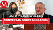 Kamala Harris agradece a AMLO cooperación en migración; _espero trabajar con él_