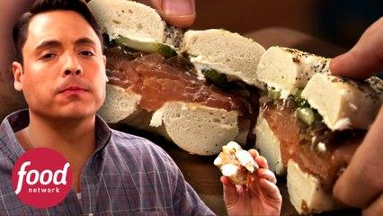 Delicia ahumada de salmón en 5 simples pasos | El rey del sándwich | Food Network Latinoamérica