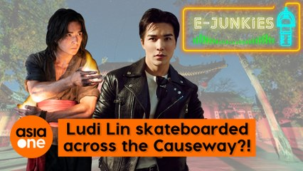 E-Junkies: Ludi Lin once skateboarded across the Causeway to Singapore?!