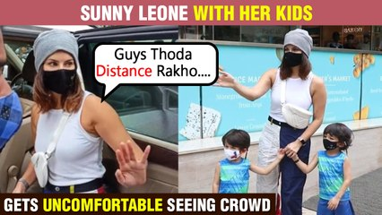 Sunny Leone Says, 'Zara Distance Rakho' | ALERTS Photographers To Maintain Social Distancing