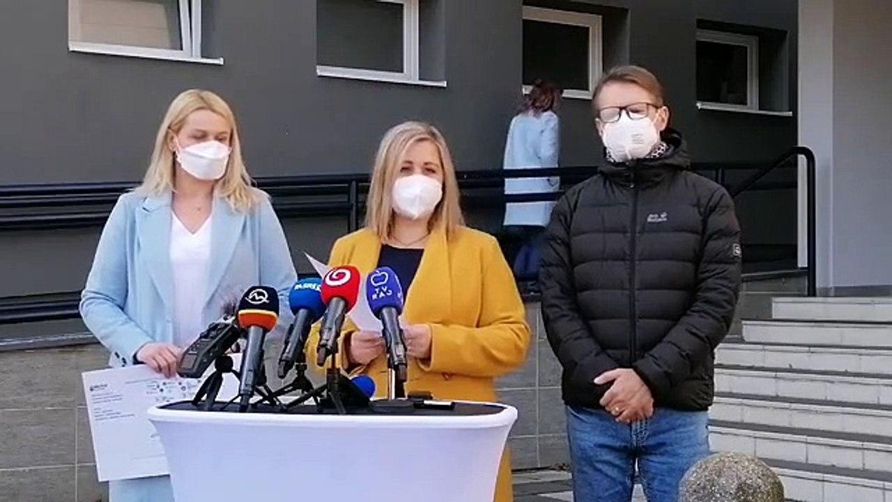 ZÁZNAM: TK predsedníčky Žilinského samosprávneho kraja Eriky Jurinovej