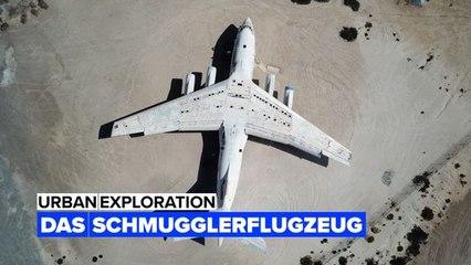 Urbex: Das Flugzeug eines Waffenschmugglers parkt in der Nähe von Dubai